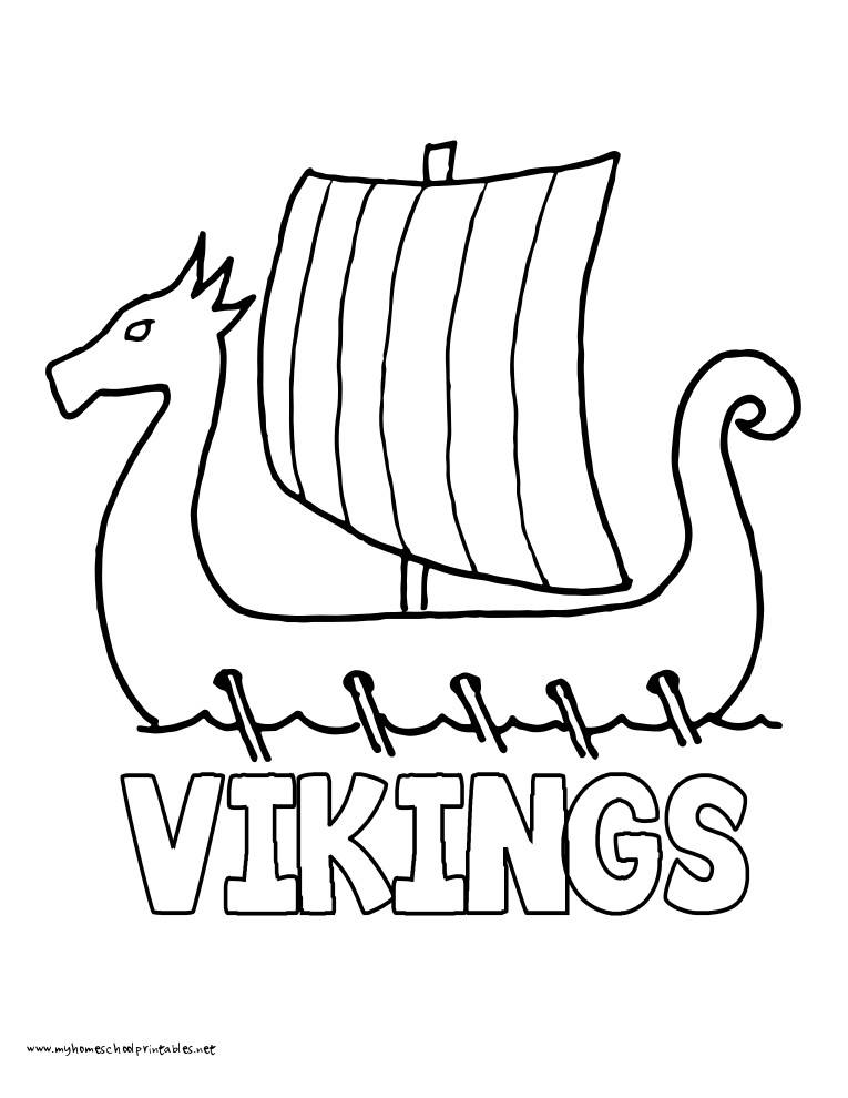 Super Easy Viking Foot Ball Super Bull Coloring Pages For Boys  Minnesota Vikings Free Colouring Pages