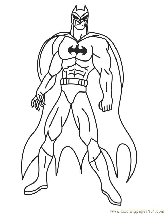 Super Hero Coloring Book Pages  Best Superhero Printable Coloring Pages Superhero