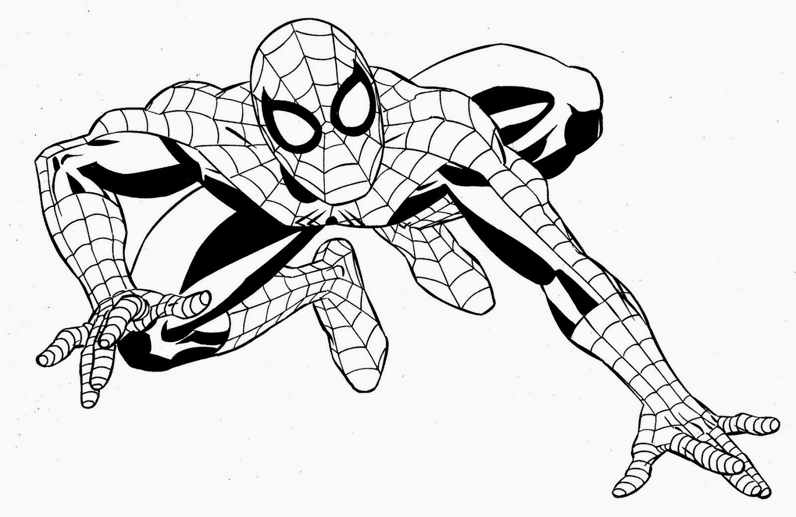 Super Hero Coloring Pages For Kids  Coloring Pages Superhero Coloring Pages Free and Printable