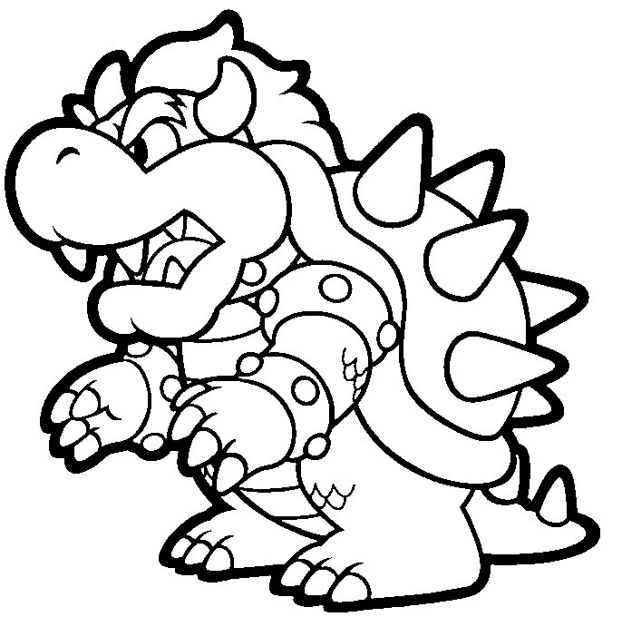 Super Mario Coloring Book  Super Mario Coloring Pages Free Printable Coloring Pages