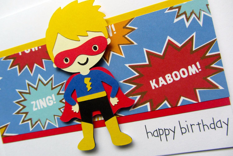Best ideas about Superhero Birthday Card . Save or Pin Superhero Birthday Card Boy Birthday Card Nephew Birthday Now.