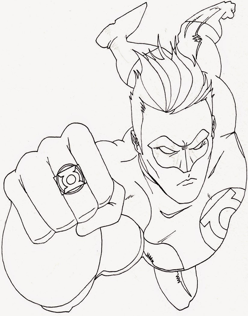 Superhero Coloring Books  Coloring Pages Superhero Coloring Pages Free and Printable