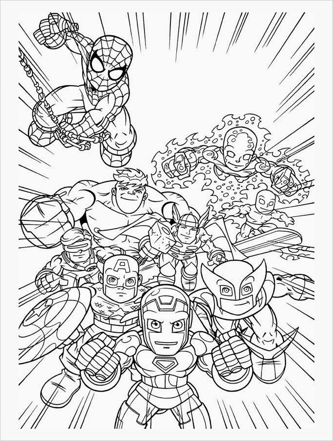 Superhero Coloring Books  Superhero Coloring Pages Coloring Pages