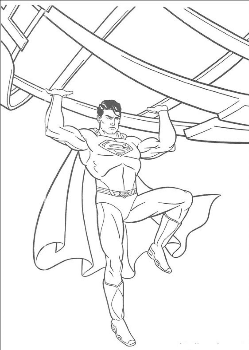 Superman Coloring Pages For Kids  Superman Coloring Pages