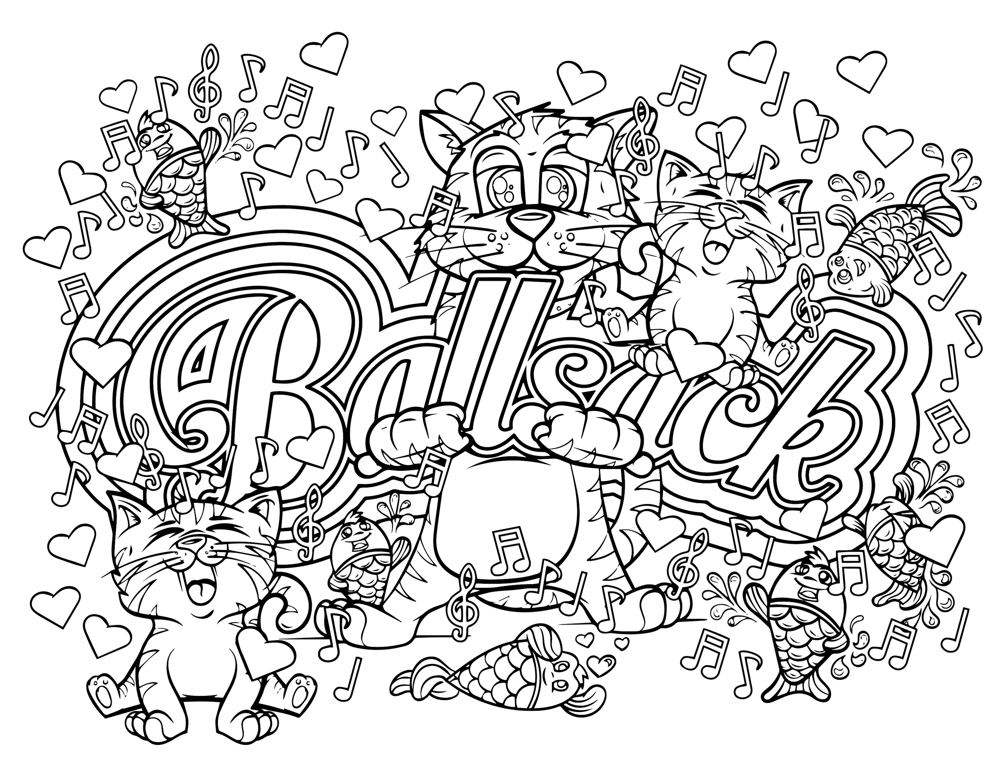 Swear Word Coloring Pages Printable Free  Brilliant Adult Swear Words Coloring Book Pages with Word