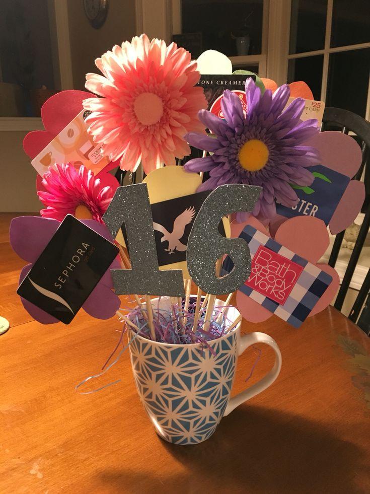 Sweet Sixteen Gift Ideas For Girls  Sweet 16 t idea Sweet 16 idea Pinterest