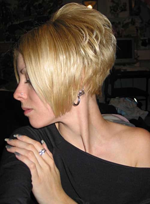 Swing Bob Hairstyle  35 Short Stacked Bob Hairstyles