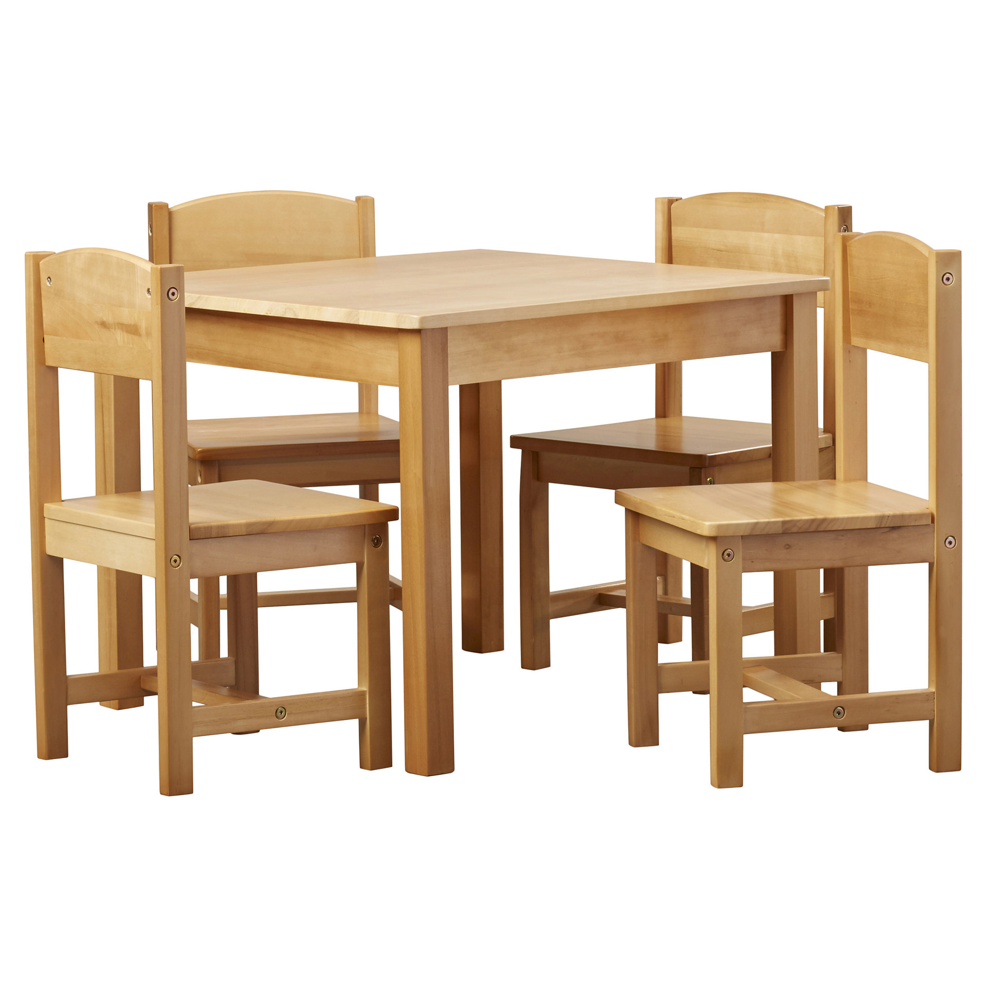 Best ideas about Table And Chair Set . Save or Pin KidKraft Farmhouse Kids 5 Piece Square Table and Chair Set Now.