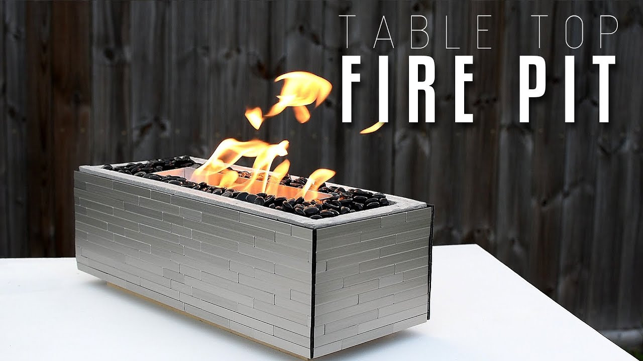 Best ideas about Table Top Fire Pit . Save or Pin Making a table top FIRE PIT Now.