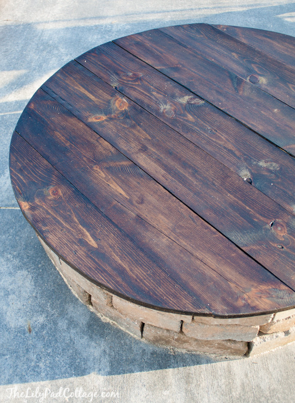 Best ideas about Table Top Fire Pit . Save or Pin DIY Fire Pit Table Top The Lilypad Cottage Now.