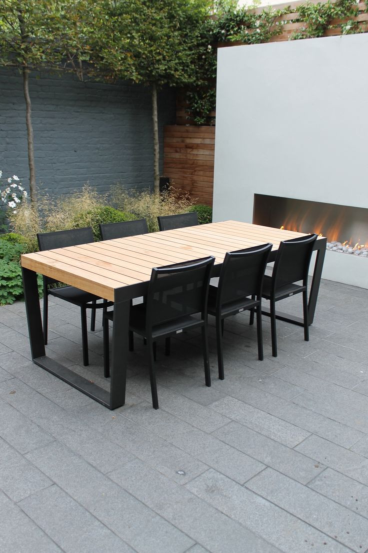 Best ideas about Tall Patio Table . Save or Pin Furniture Natural Modern Outdoor Bar Sets Tall Patio Now.