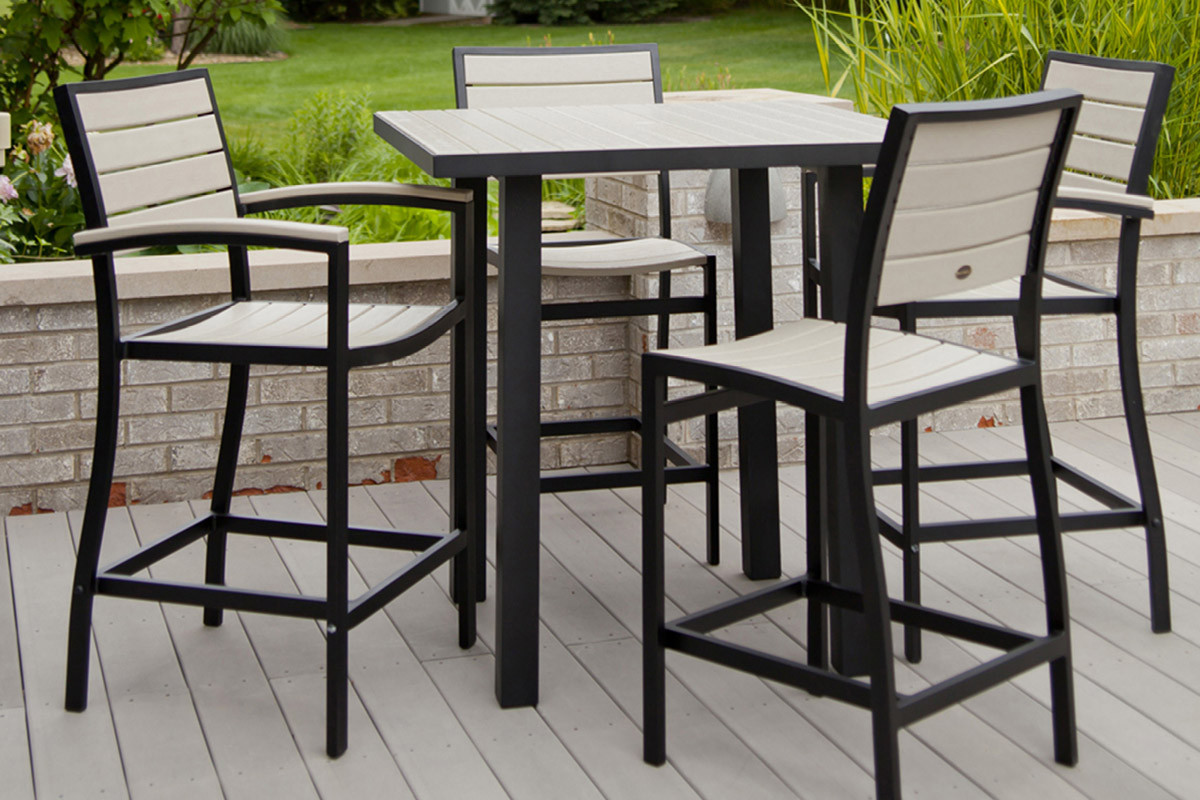 Best ideas about Tall Patio Table . Save or Pin White Patio Table And Chairsca Chairs Outdoor Plastic Tall Now.