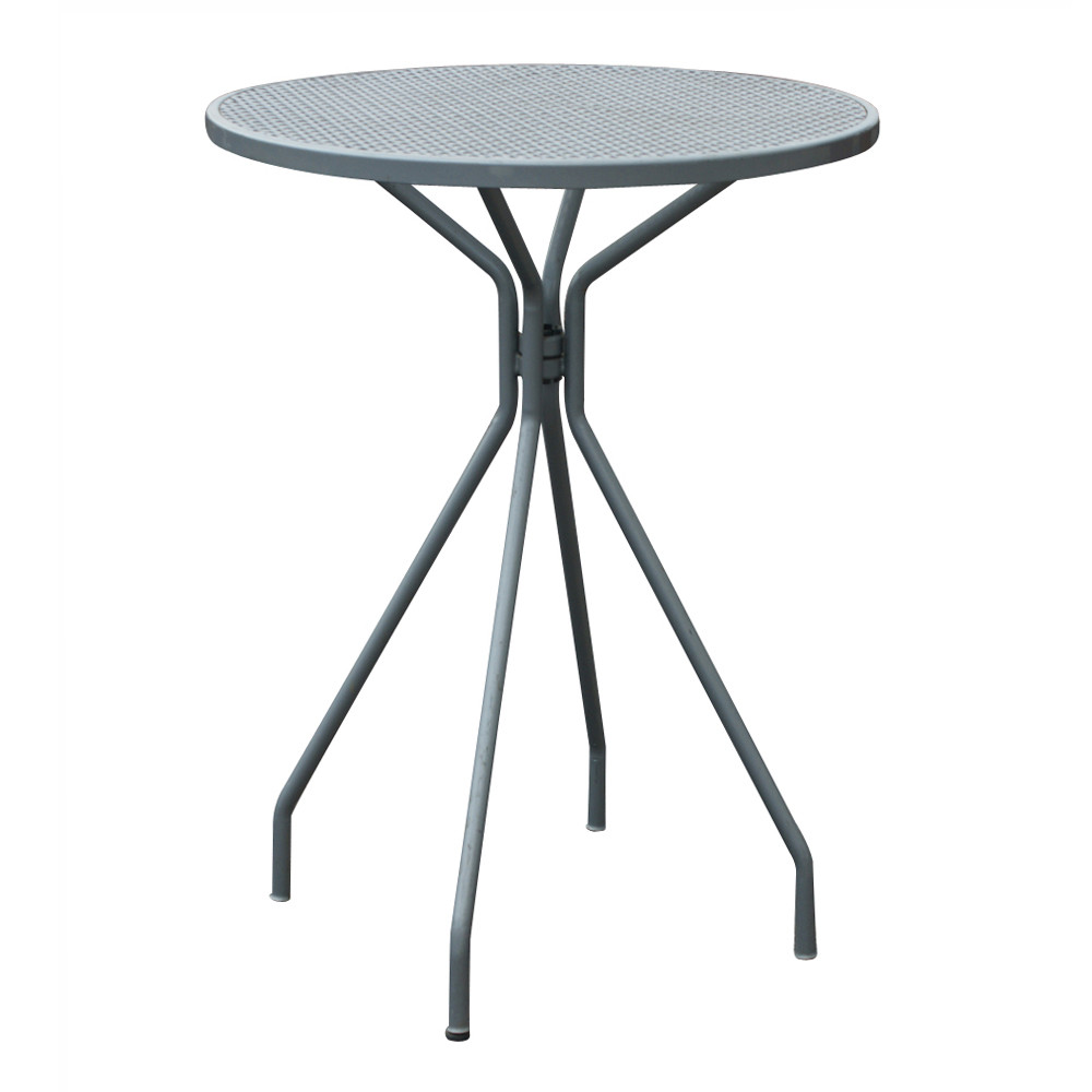 "Best ideas about Tall Patio Table . Save or Pin 41"" Height Vintage Outdoor Patio Bar Cocktail Table Now."