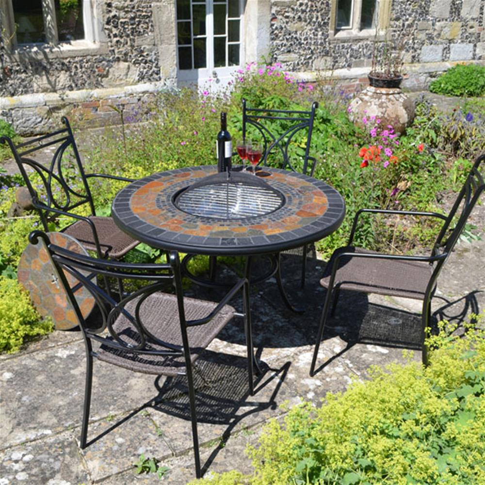 Best ideas about Tall Patio Table . Save or Pin Europa Leisure Durango Fire Pit Tall Patio Table Now.