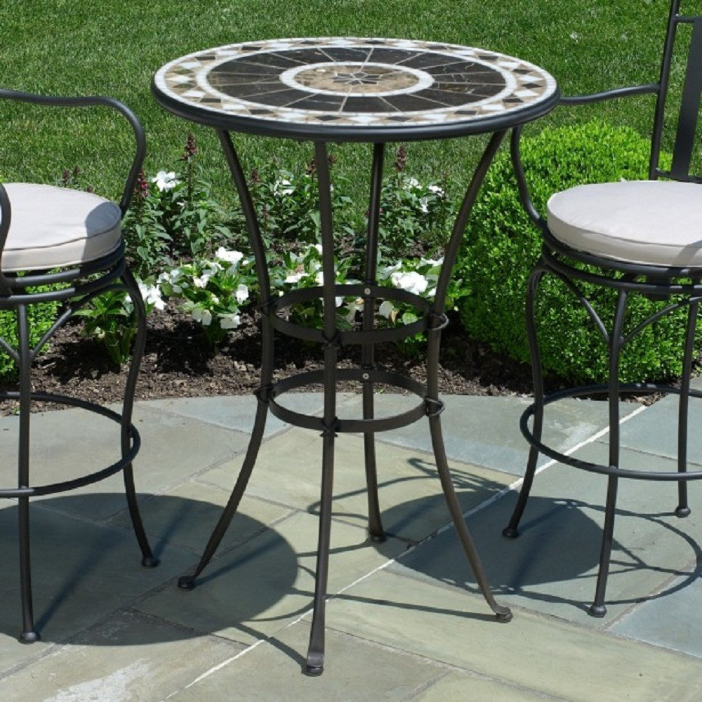 Best ideas about Tall Patio Table . Save or Pin Innovative High Patio Chairs Type Tall Outdoor Table Now.