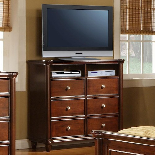 Best ideas about Tall Tv Stands For Bedroom . Save or Pin Elements International Hamilton Bedroom TV Stand Ivan Now.
