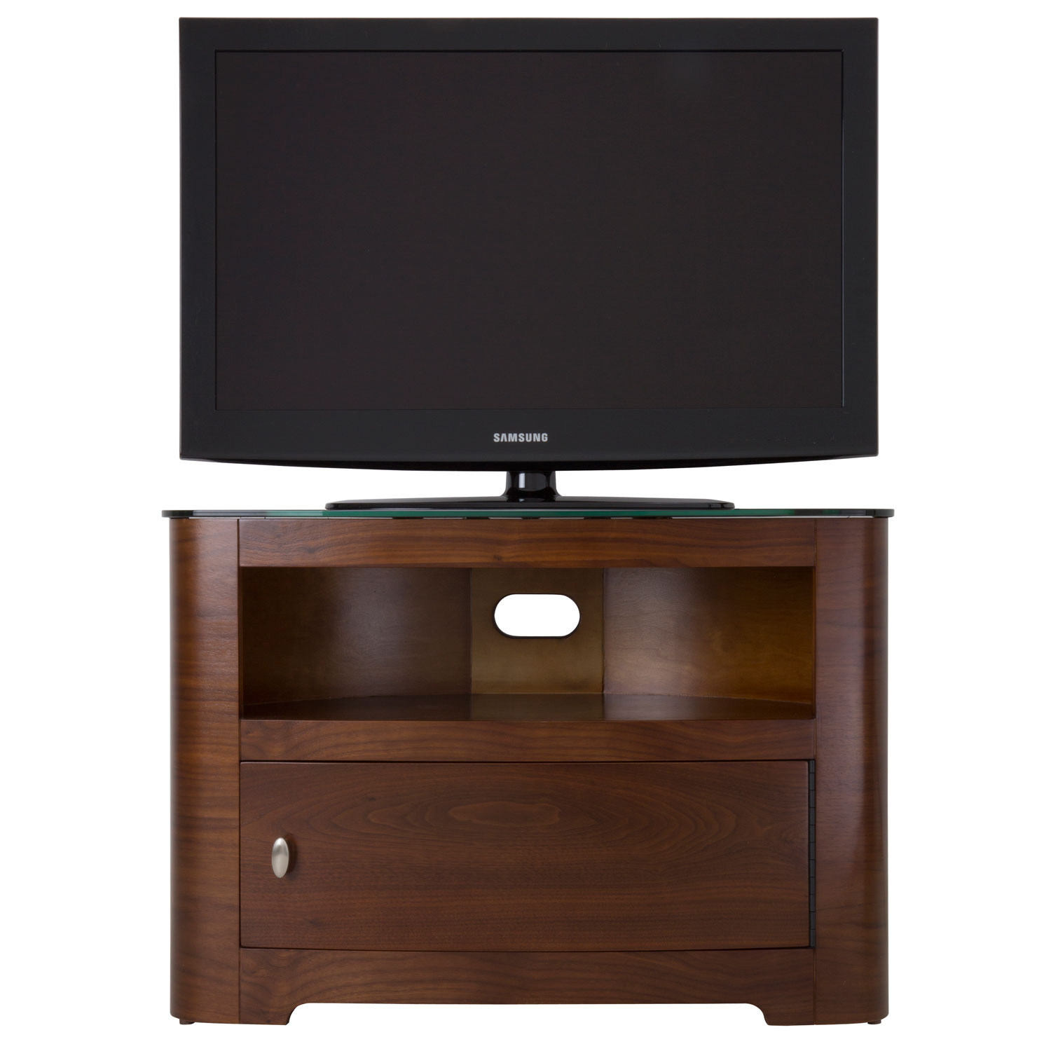 Best ideas about Tall Tv Stands For Bedroom . Save or Pin Modern Tall Wood Bedroom Tv Stand With Shelf And Cabinet Now.