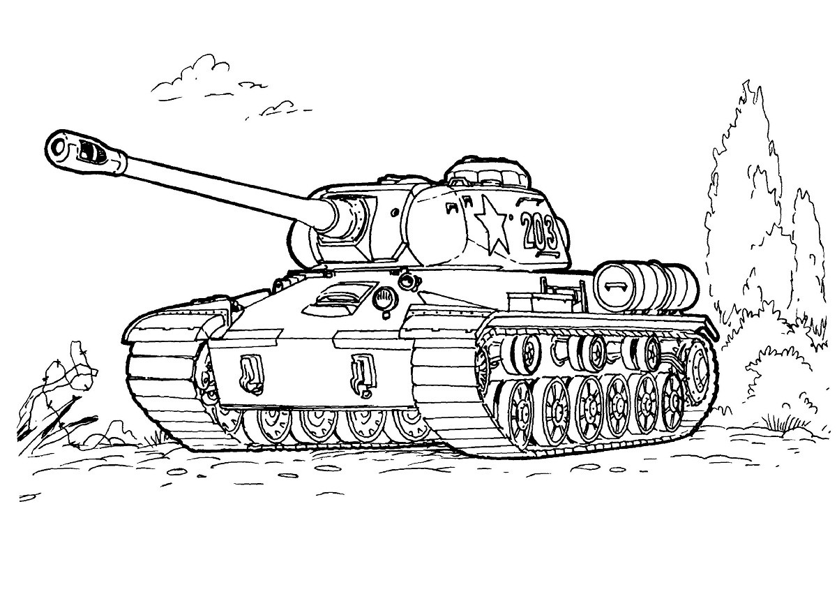 Tanks Coloring Pages  Free Printable Army Coloring Pages For Kids