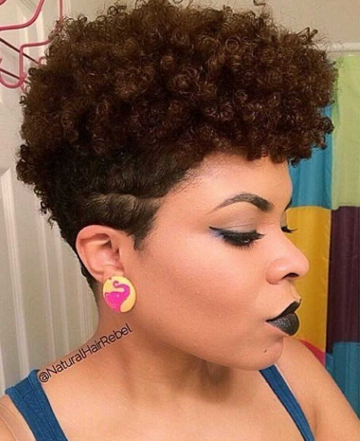 Best ideas about Taper Cut On Natural Hair . Save or Pin 270 best images about Tapered TWA Natural Hair on Pinterest Now.