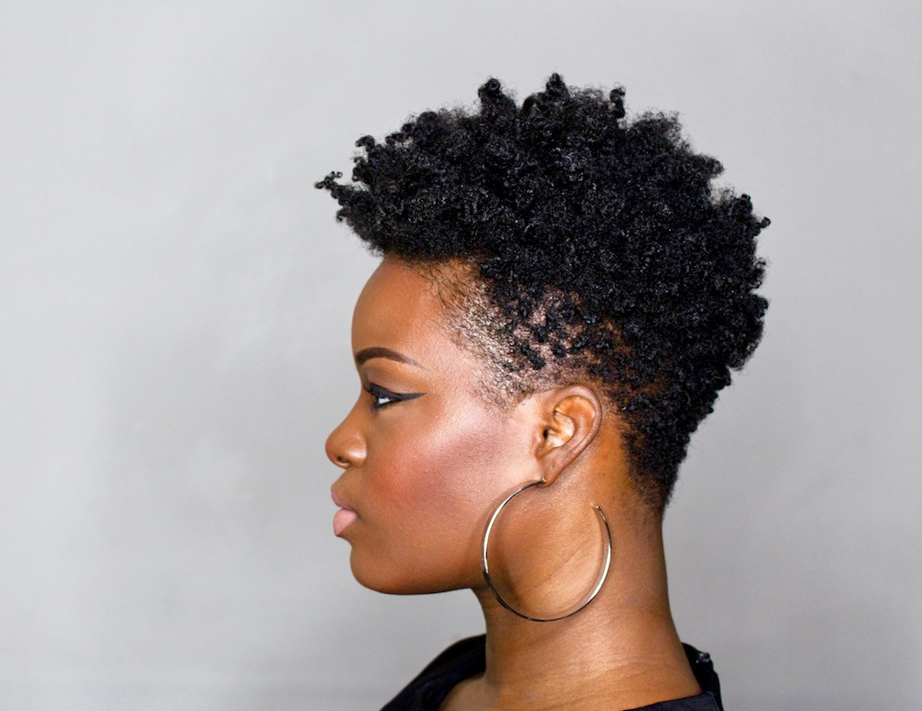 Best ideas about Taper Cut On Natural Hair . Save or Pin DIY Tapered Cut Tutorial 4C Natural Hair Step by Step Now.