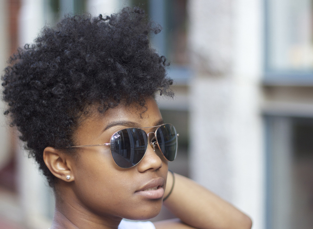 Best ideas about Taper Cut On Natural Hair . Save or Pin beholdalady phenolot Tapered short defined Now.