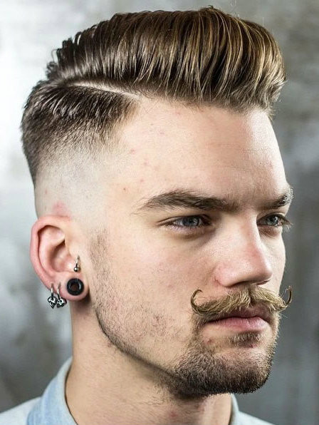 Tapered Mens Haircuts  Top 30 Taper Fade Mens Haircut Styles