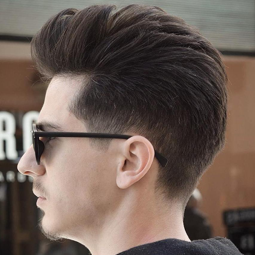 Tapered Mens Haircuts  40 Statement Hairstyles For Men With Thick Hair