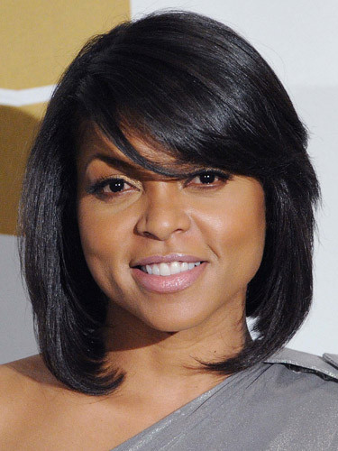 Taraji P Henson Bob Hairstyle  Lights CUT Action Taraji's Bob