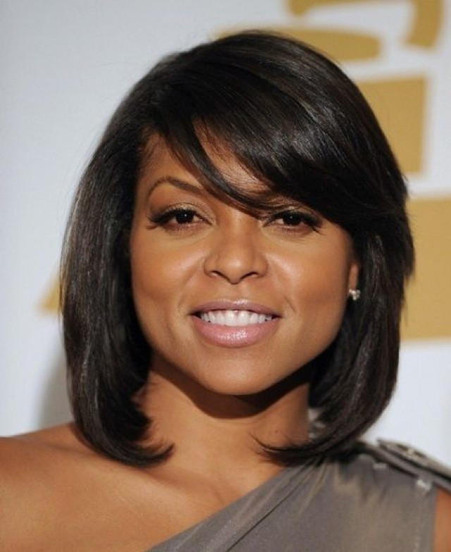 Taraji P Henson Bob Hairstyle  7 Fun and Funky Bobs for Short to Medium Length Hair