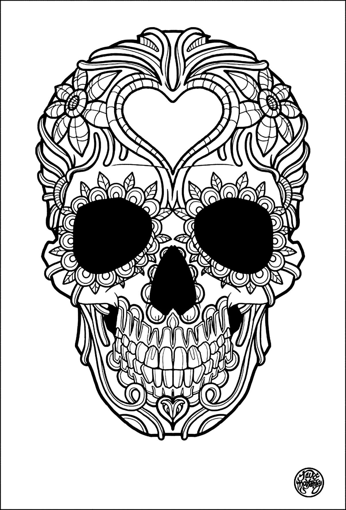 Tattoo Coloring Pages For Adults  Tattoos Coloring pages for adults coloring adult