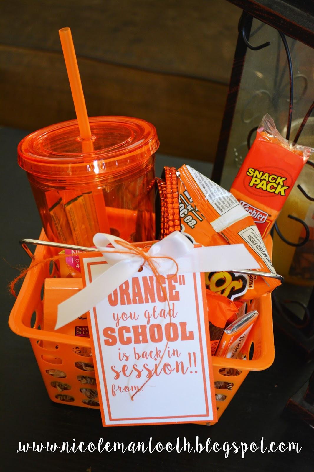 Best ideas about Teacher Gift Basket Ideas . Save or Pin Teacher Gift Basket Ideas Now.