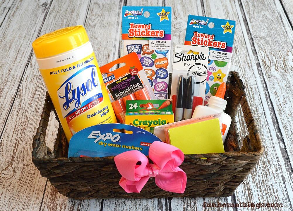 Best ideas about Teacher Gift Basket Ideas . Save or Pin Teacher Appreciation Week Gift Basket Now.