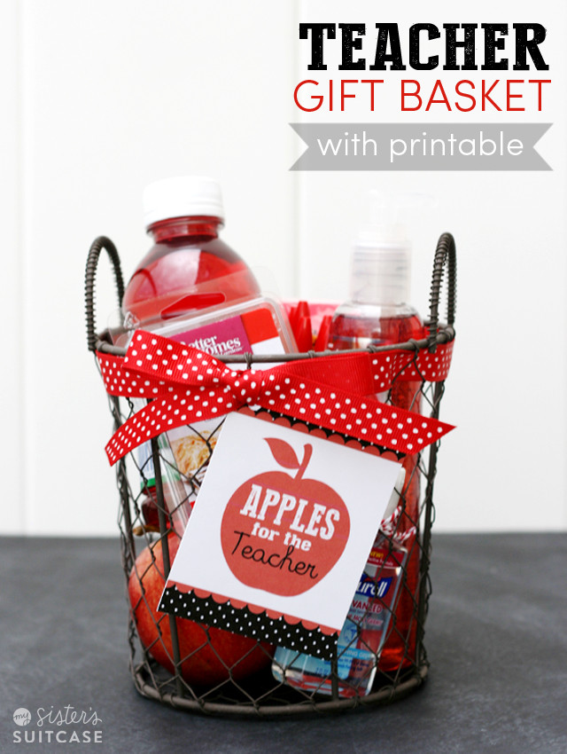 Best ideas about Teacher Gift Basket Ideas . Save or Pin 20 Back 2 School Teacher Gifts Now.