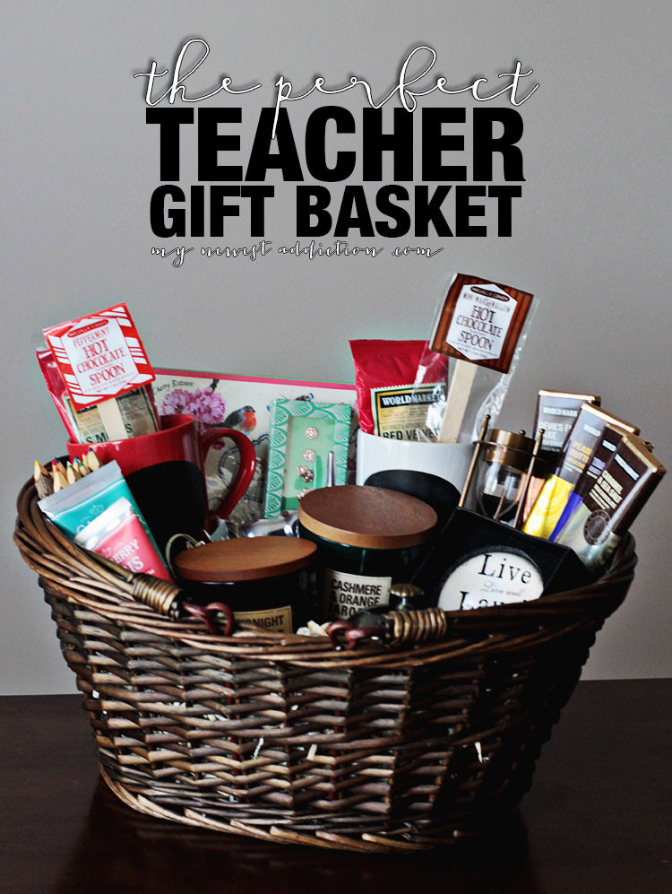 Best ideas about Teacher Gift Basket Ideas . Save or Pin How To Create The Perfect Teacher Gift Basket Now.