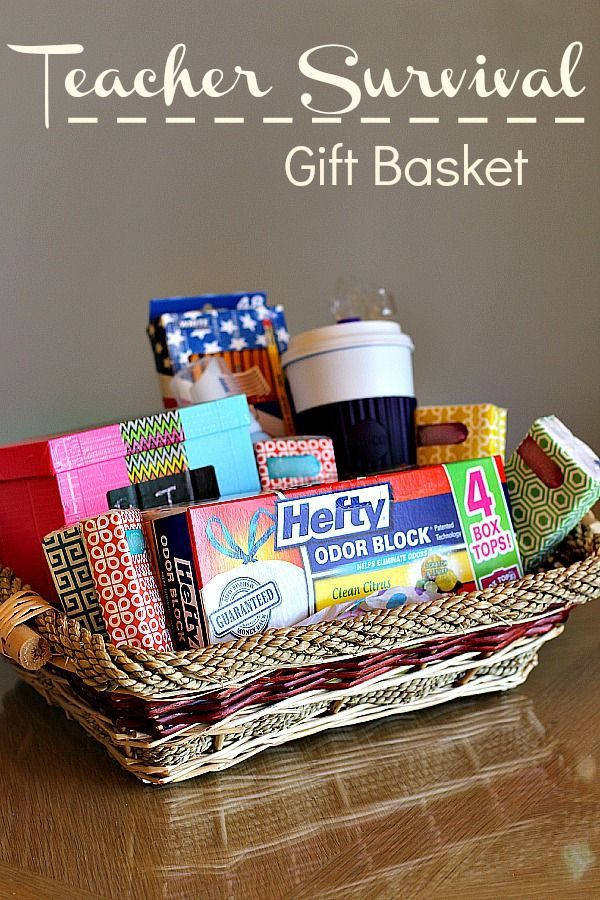 Best ideas about Teacher Gift Basket Ideas . Save or Pin With school starting back soon we re sharing ideas on how Now.