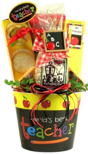 Best ideas about Teacher Gift Basket Ideas . Save or Pin Teacher Appreciation Teacher Gift Ideas Now.