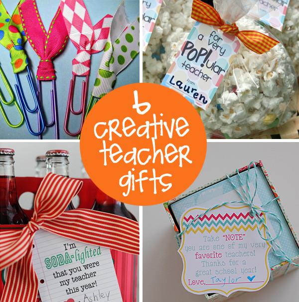 Teacher Thank You Gift Ideas  Teacher Appreciation Gift Ideas