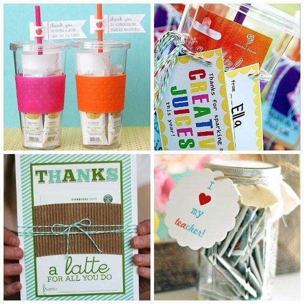 Teacher Thank You Gift Ideas  16 Teacher Appreciation Gift Ideas