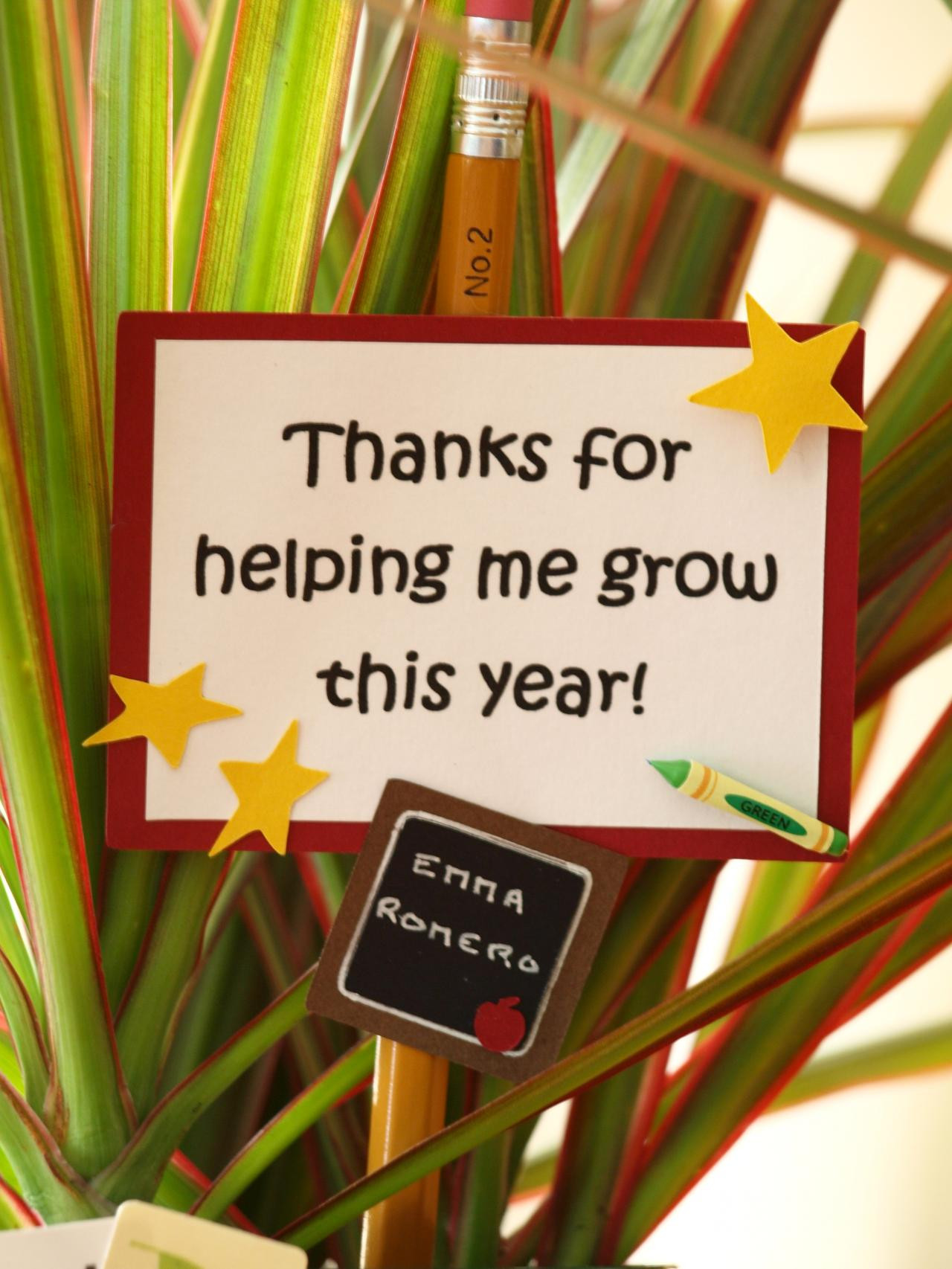 Teacher Thank You Gift Ideas  Ideas for Holiday Gifts for Teachers F3YRecipes for Life