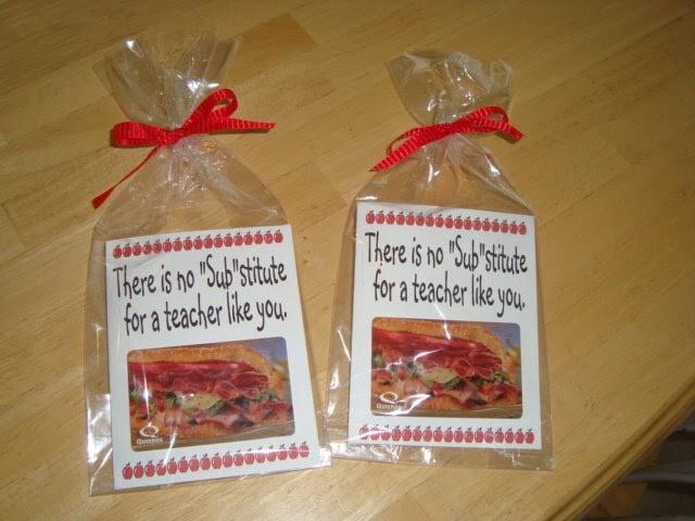 Teacher Thank You Gift Ideas  The Creative Homemaker Teacher Thank You Appreciation