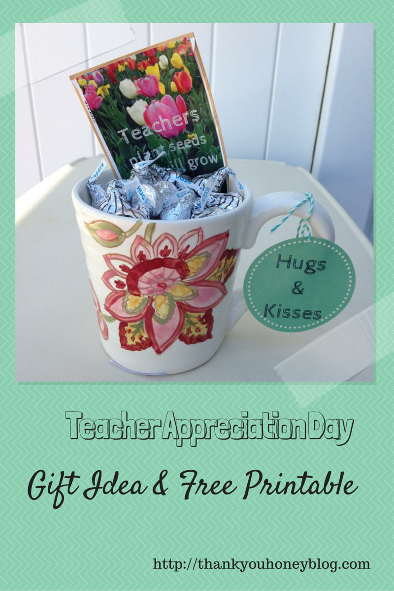Teacher Thank You Gift Ideas  Teacher Appreciation Gift Ideas & Printable Thank You Honey