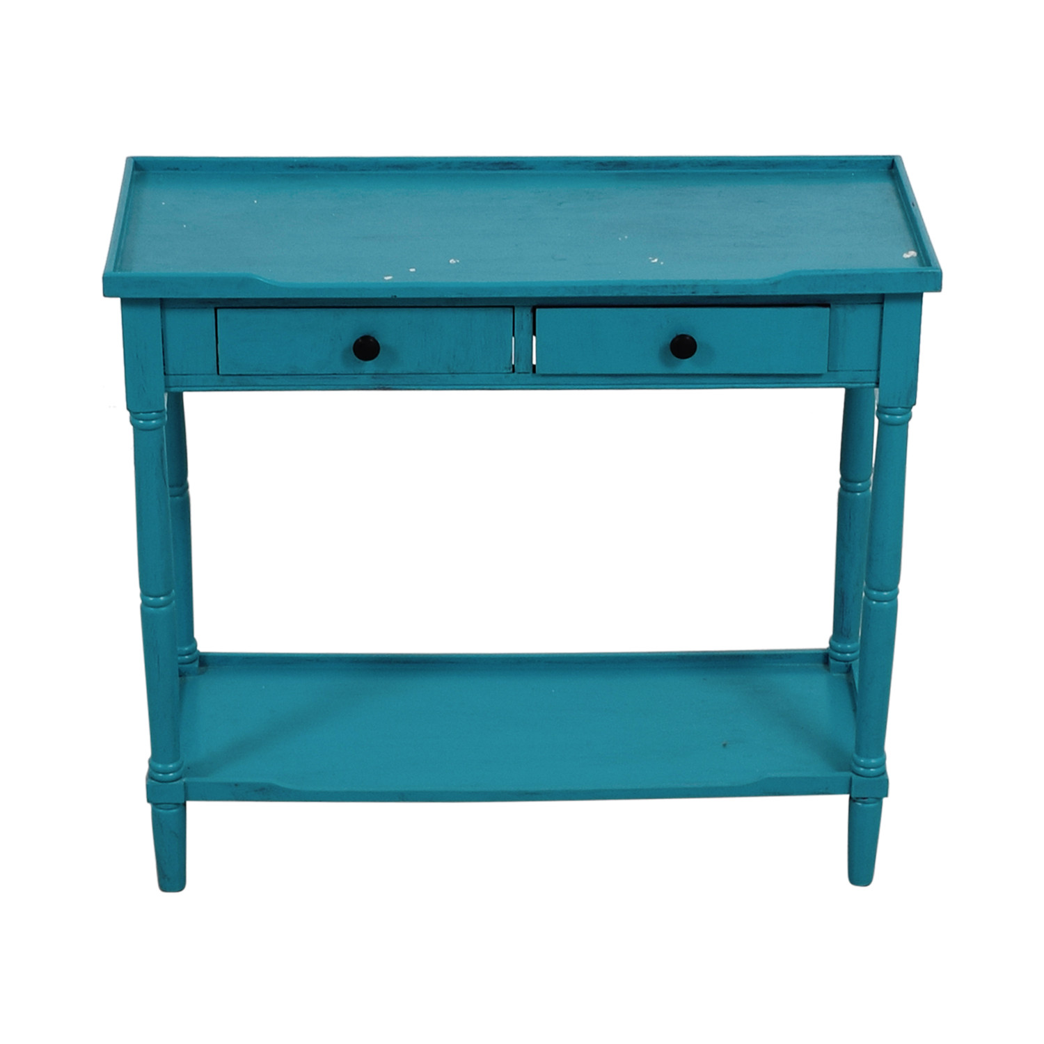 Best ideas about Teal Entryway Table . Save or Pin End Tables Used End Tables for sale Now.