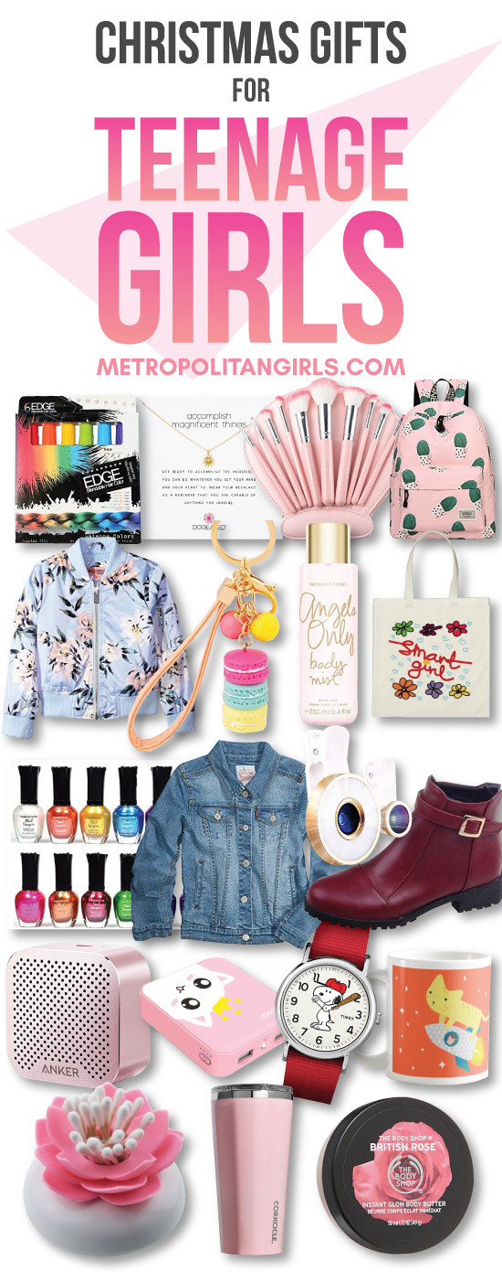 Best ideas about Teenage Girlfriend Gift Ideas . Save or Pin Christmas Gift Ideas for Teen Girls 2017 Metropolitan Girls Now.