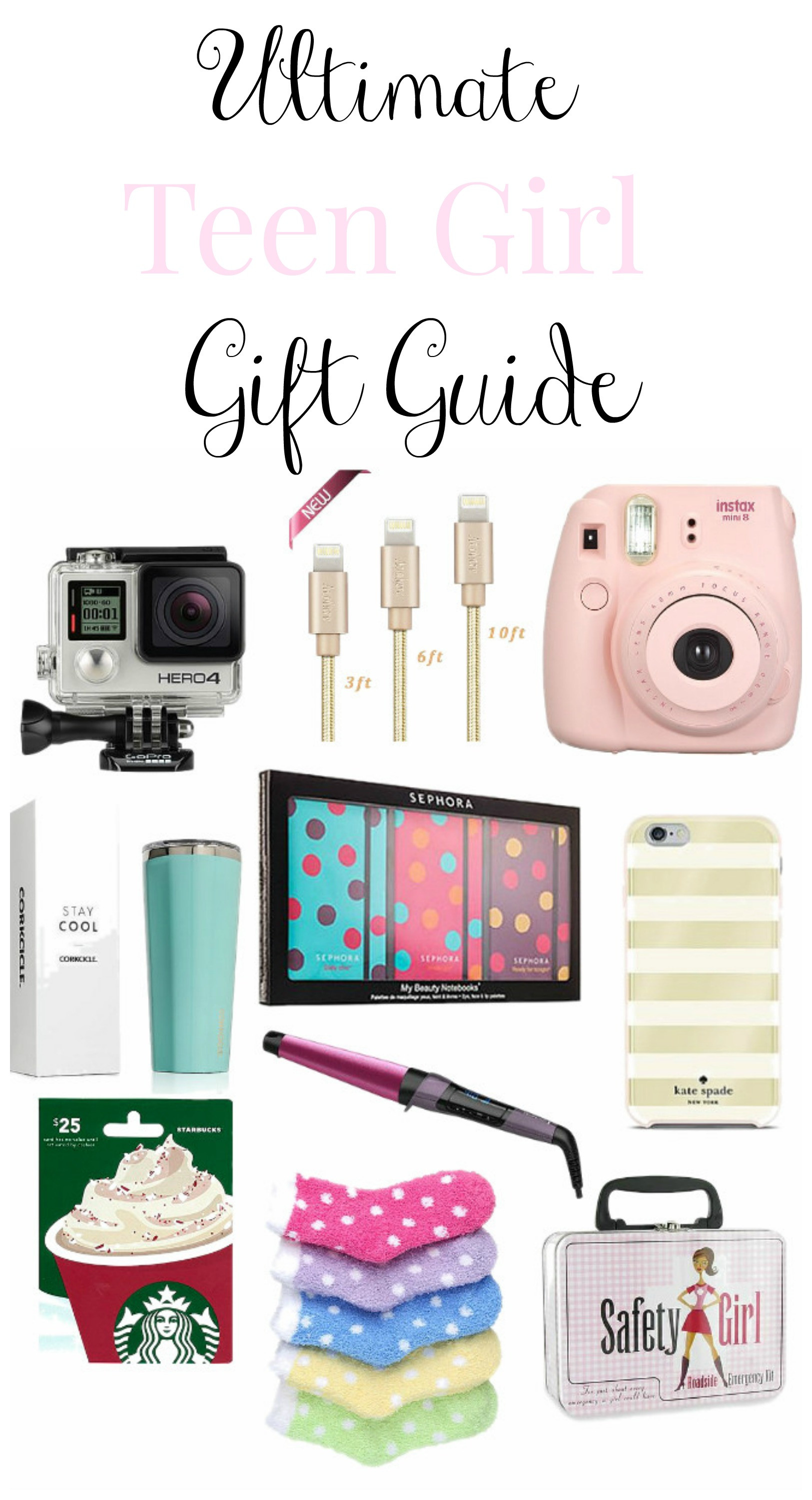 Best ideas about Teenage Girlfriend Gift Ideas . Save or Pin Teen Girl Christmas Gift Guide Re Fabbed Now.