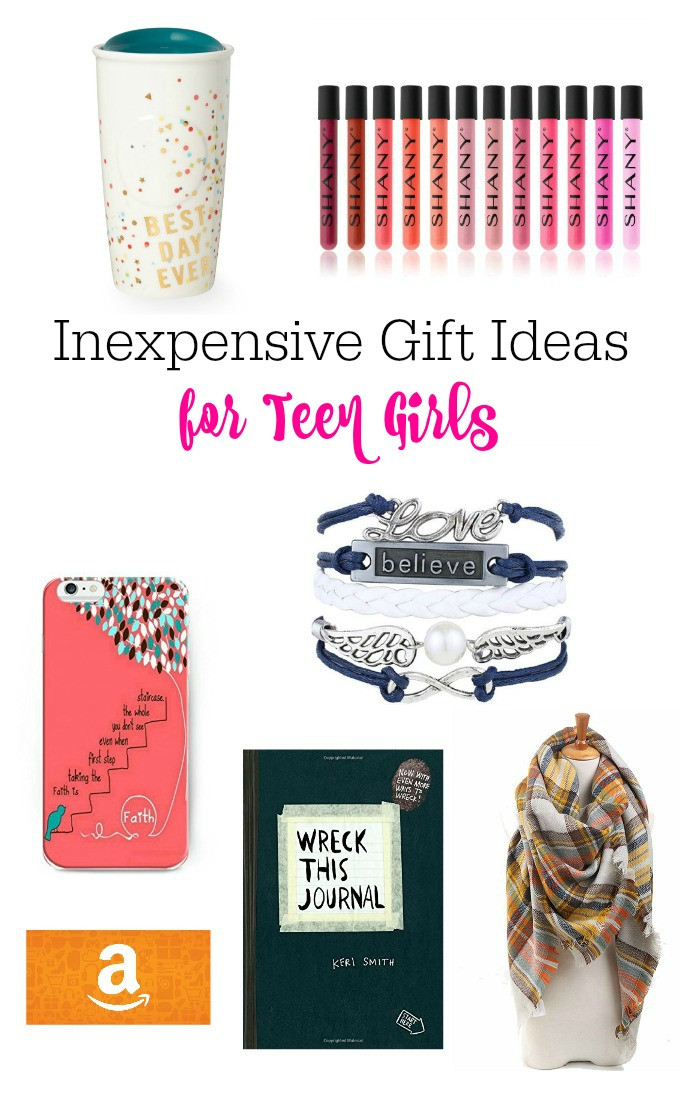 Best ideas about Teenage Girlfriend Gift Ideas . Save or Pin Inexpensive Gift Ideas For Teen Girls Now.