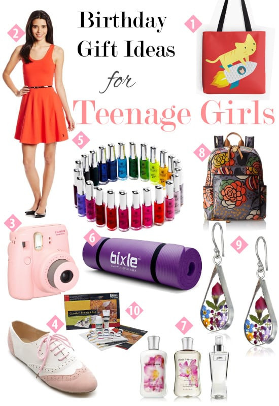 Best ideas about Teenage Girlfriend Gift Ideas . Save or Pin Birthday Gift Guide for Teen Girls ⋆ Metropolitan Girls Now.
