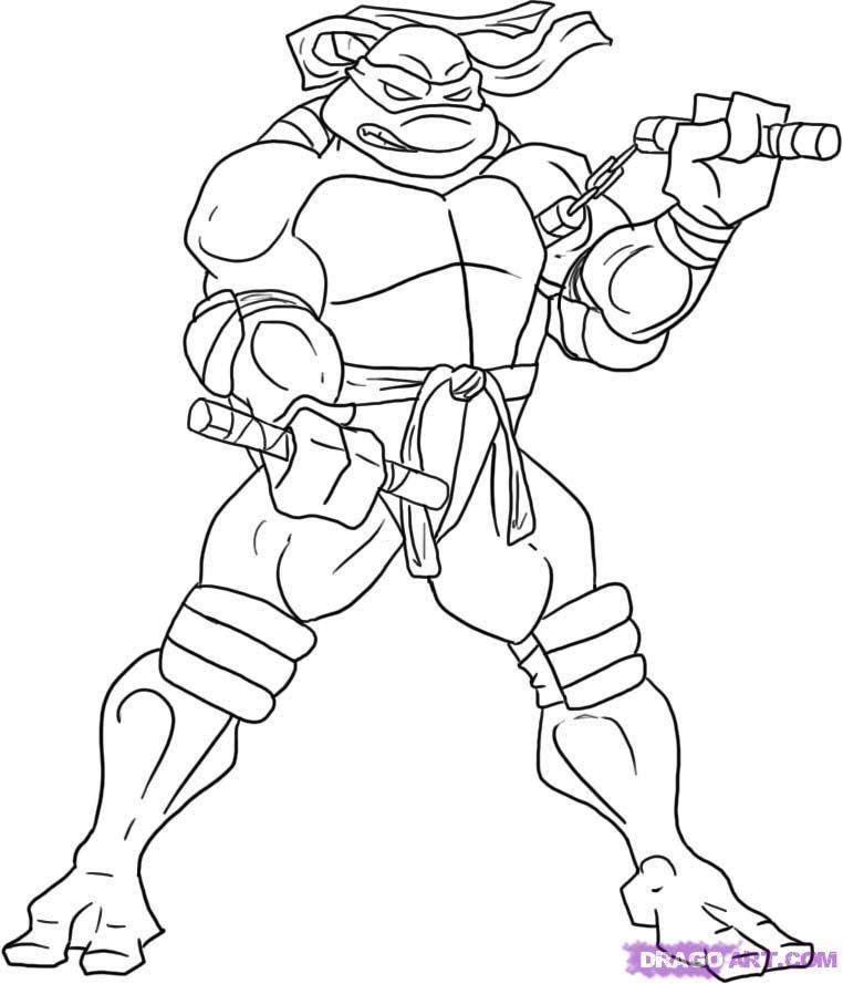 Teenage Mutant Ninja Turtles Coloring Book  Teenage Mutant Ninja Turtles Coloring Pages AZ Coloring
