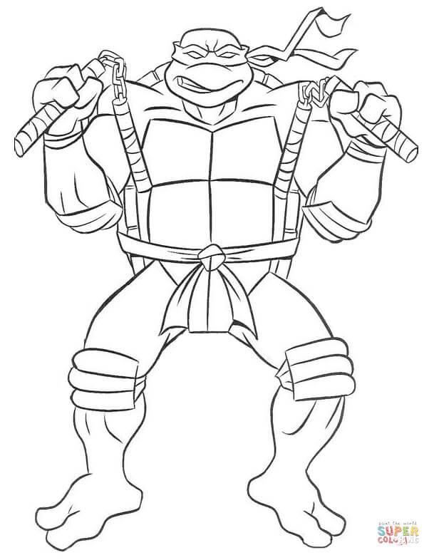 Teenage Mutant Ninja Turtles Coloring Book  Ninja Turtles Coloring Pages Bestofcoloring