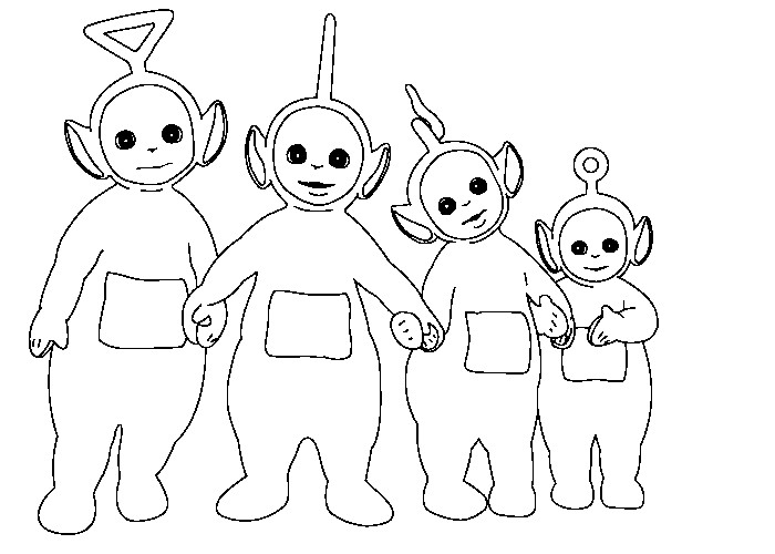Teletubbies Printable Coloring Pages  Teletubbies 16 Cartoons – Printable coloring pages