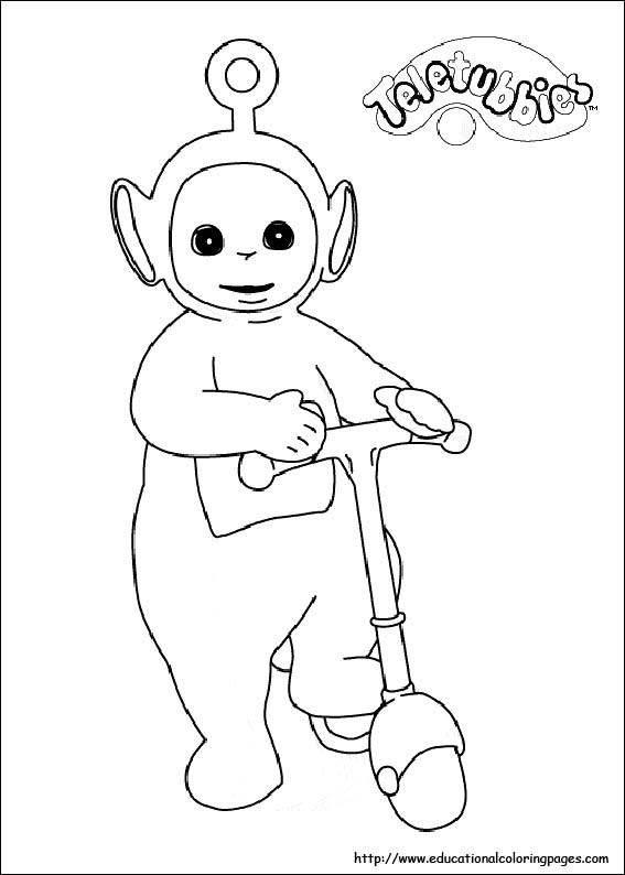 Teletubbies Printable Coloring Pages  Teletubbies coloring pictures Educational Fun Kids